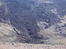 Lava Streambed From Cinder Cone