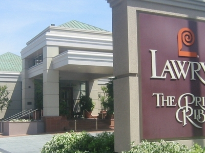 Lawrys Restaurant On La Cienega Boulevard Beverly Hills California