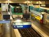 Line 7 Platforms At La Courneuve - 8 Mai 1945