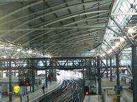 La estación de tren de Leeds