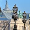 Grand Palais Seen From Pont Alexandre III