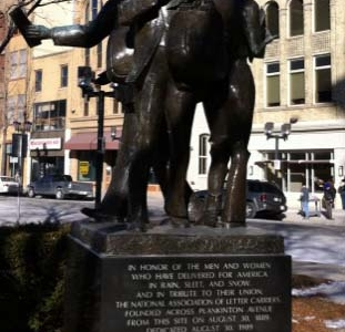 Letter Carriers Monument
