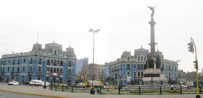 Lima Plaza Dos De Mayo