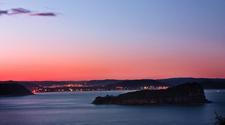 Lion Island At Sunset