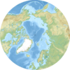 Location Of Litke Deep In The Arctic Ocean