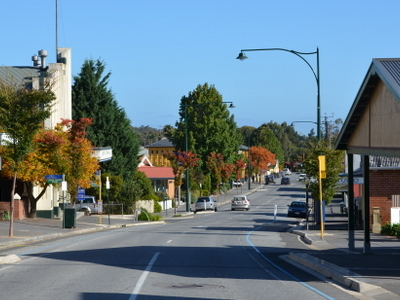Main Street Of Lobethal