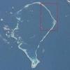 Location Of The Fongafale Island In The Funafuti Atoll