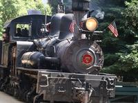 Roaring Camp y el ferrocarril de Big Trees