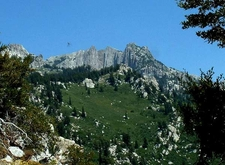 Lone Peak From Jacobs Ladder