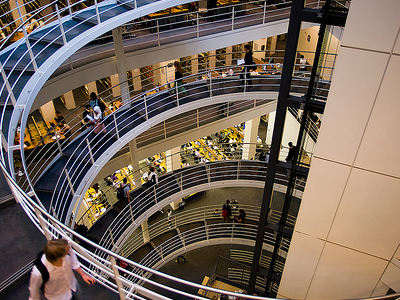LSE Library Interior