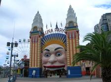 The Luna Park Entrance