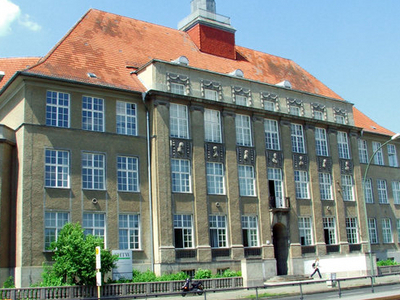Main Building In Karlshorst