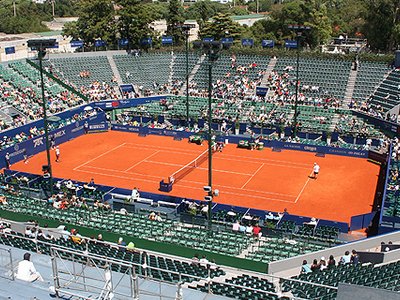 Main Court Of Buenos Aires Lawn Tennis Club