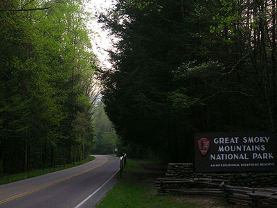 Main Entrance To The National Park