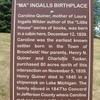 Ma Ingalls Hist Marker
