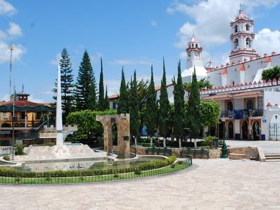 Main Plaza With Church