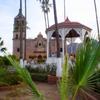 Main Plaza In Álamos, Sonora