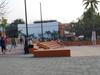 Plaza With Basketball Court