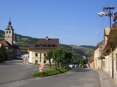 Main Square Of Gelnica