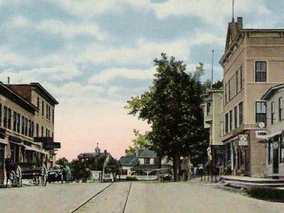 Main  Street In  Freeport