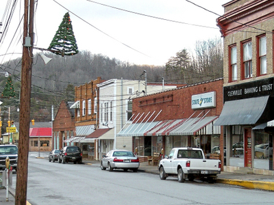 Main Street In Glenville