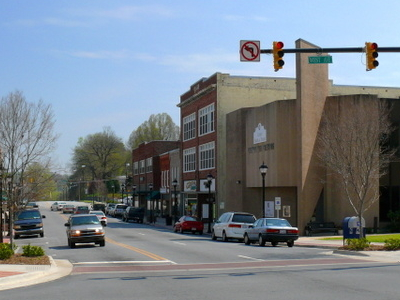 Main Street In Downtown Lenoir.