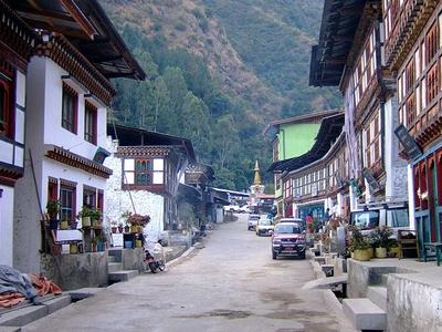 Main Street - Trashigang