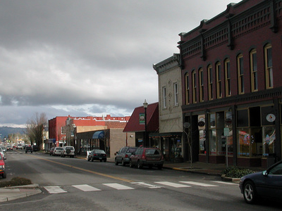 Main Street Looking East