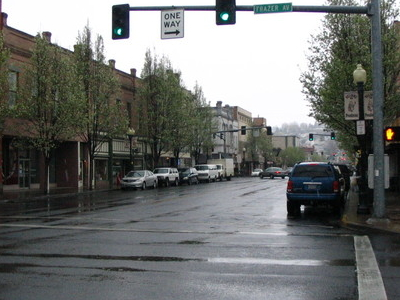 Main Street In Downtown Pendleton