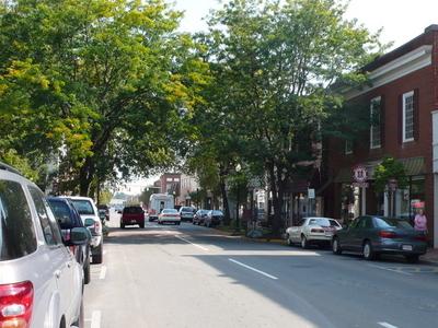 Main Street In Pulaski Virginia