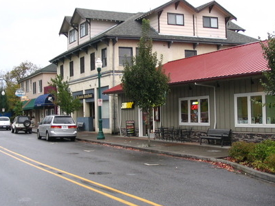 Main Street In Stevenson