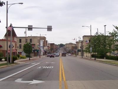 Main Street In Downtown Watertown