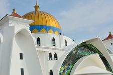 Malacca Straits Mosque - Malacca City