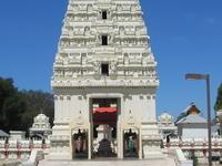 Malibu templo hindú