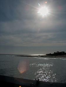Malibu Lagoon State Beach On A Calm Day