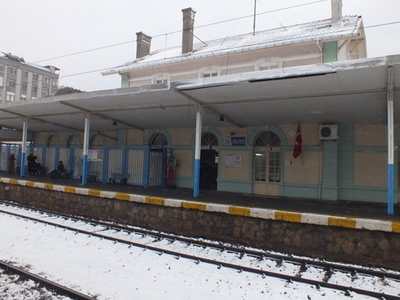 Maltepe Railway Station Building