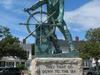 Man At The Wheel Fishermans Memorial Cenotaph