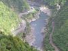 Manawatu Gorge Aerial View - Te Urewera National Park - New Zealand