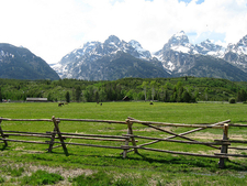 Manges Cabin At Grand Tetons - Wyoming - USA