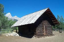 Manges Cabin - Grand Tetons - Wyoming - USA
