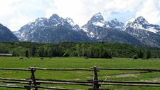 Manges Homestead - Grand Tetons - Wyoming - USA
