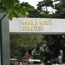 Entrance Of The Manila North Cemetery
