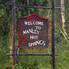Manley Hot Springs Welcome Sign
