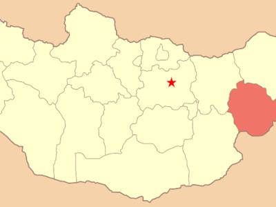 Map Mn Sukhbaatar Aimag