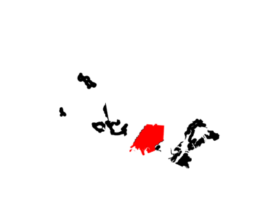 Map Of  Alaska Highlighting  Dillingham  Census  Area