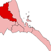 Map Of Eritrea With The Anseba Region Highlighted