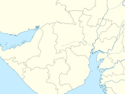 Map Of Gujaratshowing Location Of Ankleshwar