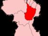Map Of Guyana Showing Upper Demerara Berbice Region