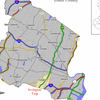 Map Of Irvington In Essex County.