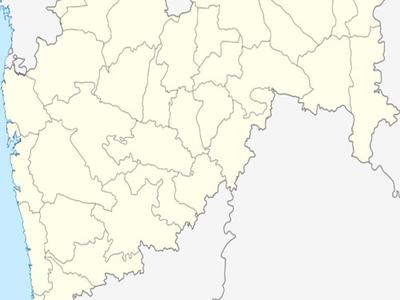 Map Of Maharashtra Showing Location Of Mira Bhayander